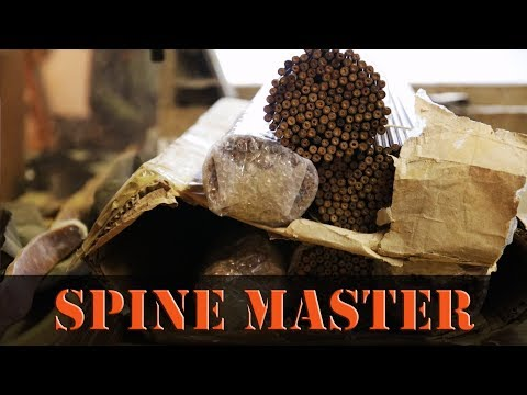 Measuring Wood Arrow Spine with the Ace Spine Master