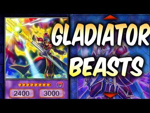 Yugioh Gladiator Beast Deck Profile (Yu-gi-Oh Competitive Deck Build)