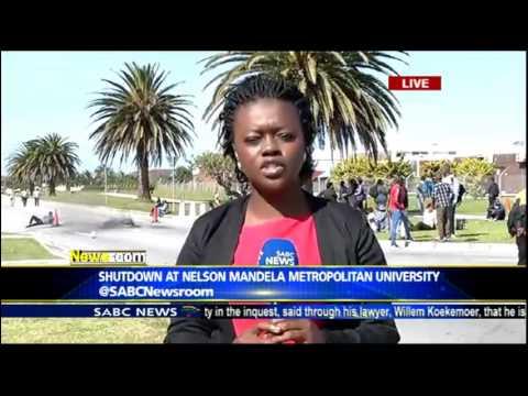 Shutdown at Nelson Mandela Metroplitan University