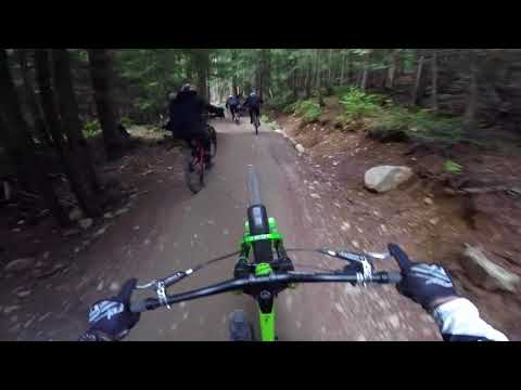Party laps in the Whistler Bike Park