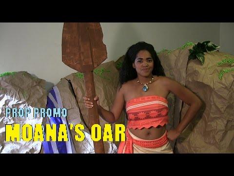 Prop Promo: Moana's Oar