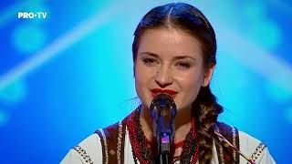 Romanii au talent 2018 - Stela Botez - canta la cobza