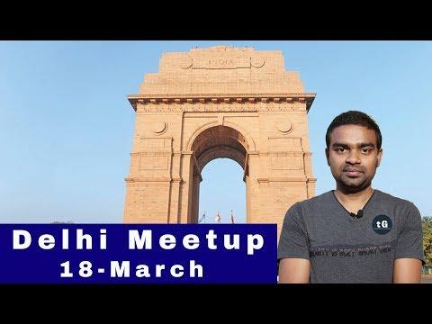 1st Delhi Meetup, Jio 1TB Data Offer, BSNL Hack, Google Tez Chat Features, Tech Prime #125