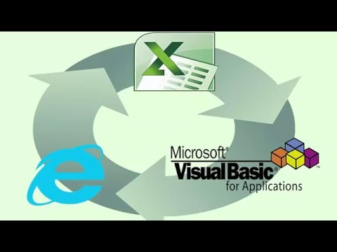 Excel - How to insert a VBA code module