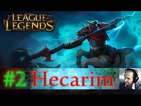 LoL [ARABIC] Ranked Hecarim #2 لول : الرابطة البلاتينية #2