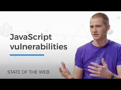 JavaScript Vulnerabilities - The State of the Web
