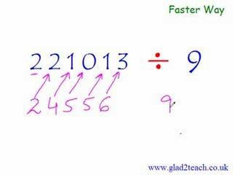 Secret Trick : Math Division Long