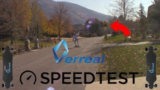 $70 OFF PROMO CODE!!! Verreal V1S Top Speed Test!!!