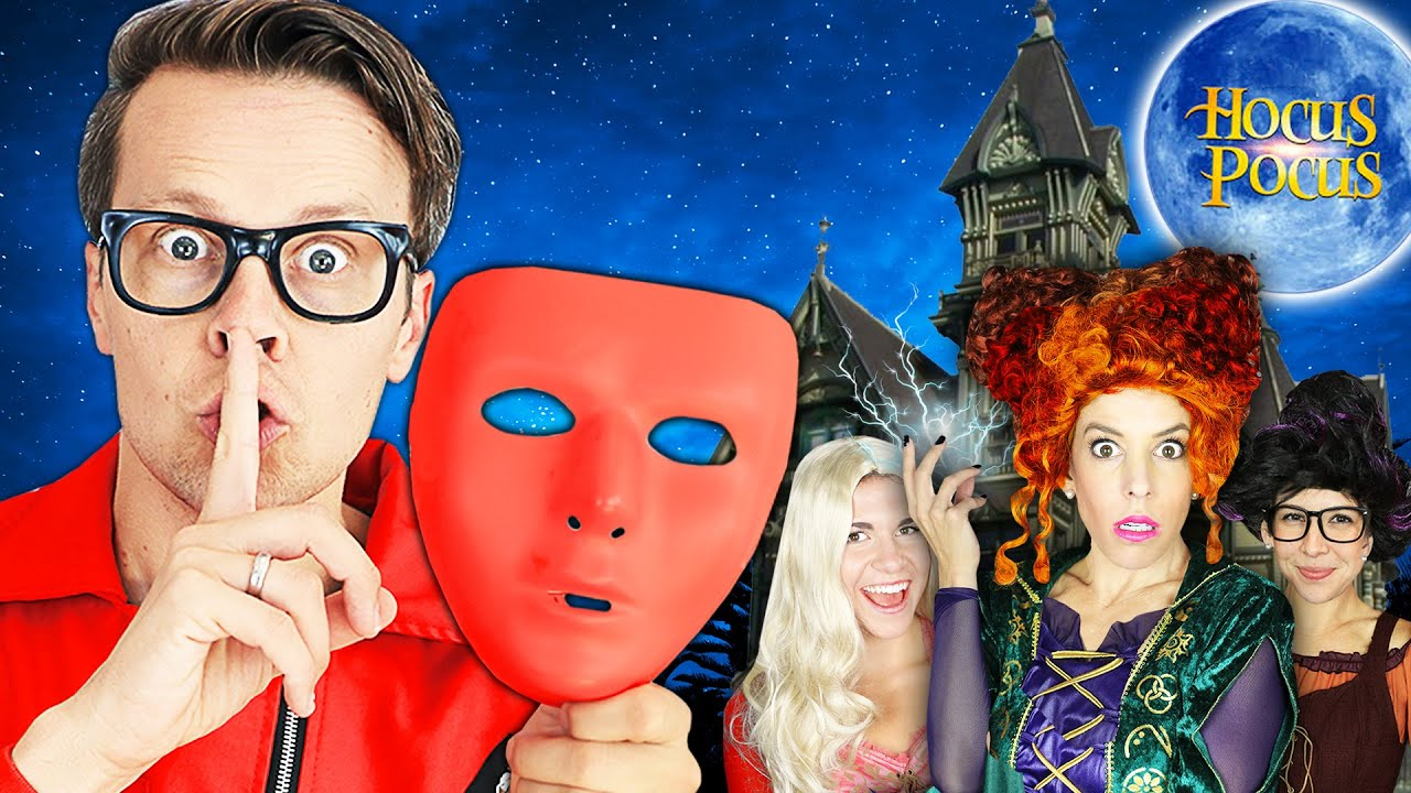 I am the IMPOSTER! Surprising My Friends in HOCUS POCUS Movie in Real Life for 24 Hours!