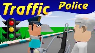 MAKE JOKE ON:- TAFFICE POLICE VS VILLAGER NEW FUNNY VIDEO (MJO)