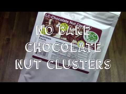 Low Carb Chocolate Nut Clusters - No Bake