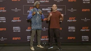 UFC Phoenix: Media Day Faceoffs