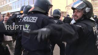 Germany: Police, anti-lockdown protesters scuffle in Berlin