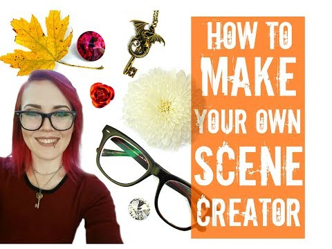 How to make your own free SCENE CREATOR- Without photo shop!