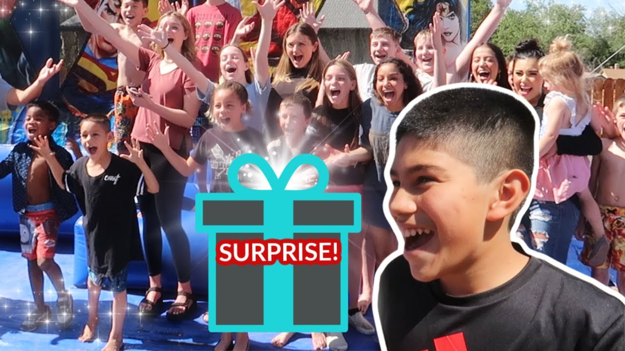 HUGE Birthday Surprise