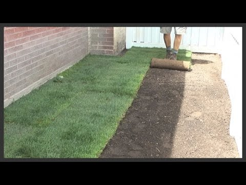 How to move sprinklers, till the yard, and lay sod