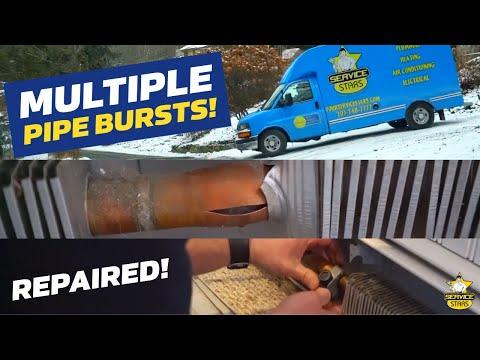 Frozen Baseboard Heat - Multiple Pipe Bursts!