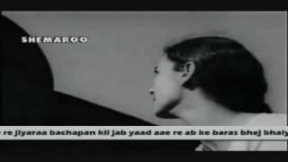 lakhi babul...amir khusaro,ab ke baras bhej bhaiya ko babul-asha bhosale-shailendra-bandini