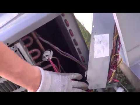 Changing a Filter Dryer inside a Goodman Condenser Unit