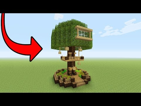 Minecraft Tutorial: How To Make A Beginner Tree House