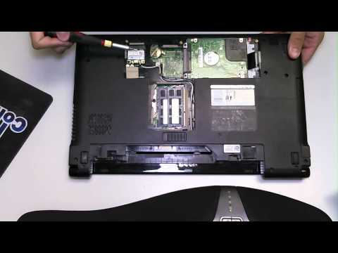 Dell Inspiron 1564 Hard Drive Removal and Upgrade
