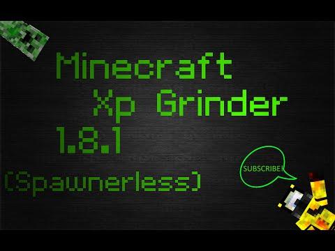 Minecraft Xp Farm (No Spawner) 1.8.1