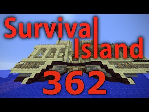 Minecraft- Survival Island [362] Moving The Boat???
