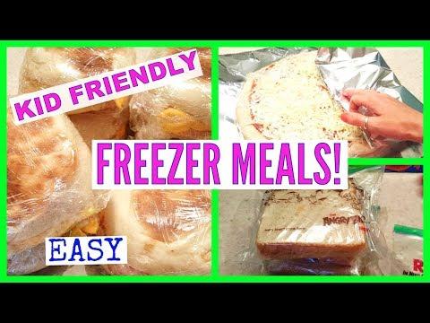 Easy Kid Friendly Freezer Food | Back to School
