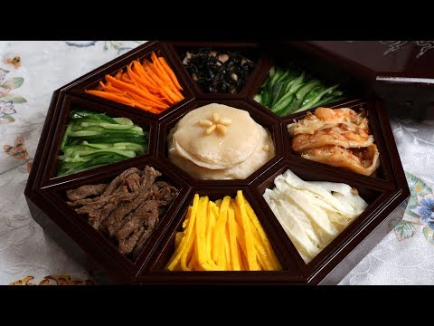 Gujeolpan (Platter of 9 Delicacies: 구절판) 2 million subscriber special!