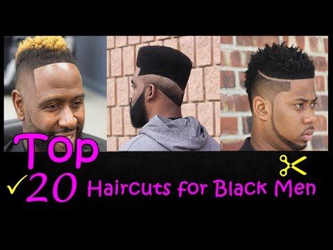 Top 20 Haircuts for Black Men 2017