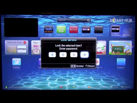 How to Enable Passcode Lock for Apps on Samsung SmartTV