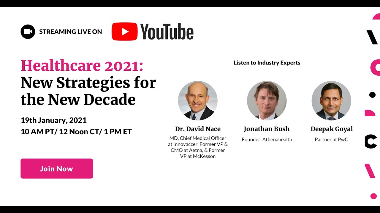 Live Webinar | Healthcare 2021 New Strategies for the New Decade
