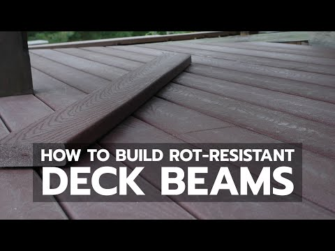 How to Build Rot-Resistant Deck Beams