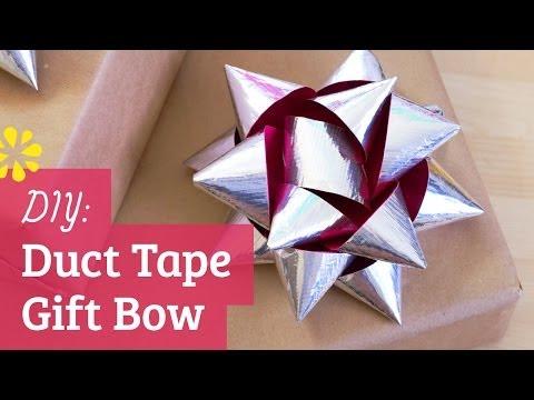 DIY Duct Tape Gift Bow | Sea Lemon