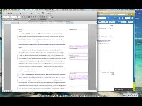 Accepting Changes in Microsoft Word