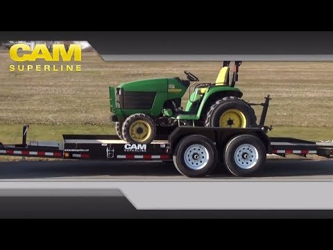 Full Deck Tilt Trailer by CAM Superline
