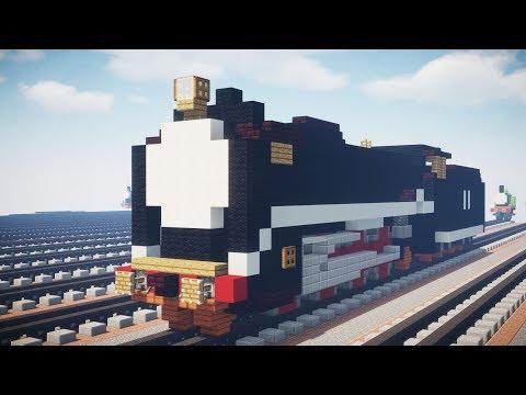 Minecraft Thomas & Friends Hiro JNR D51 Tutorial