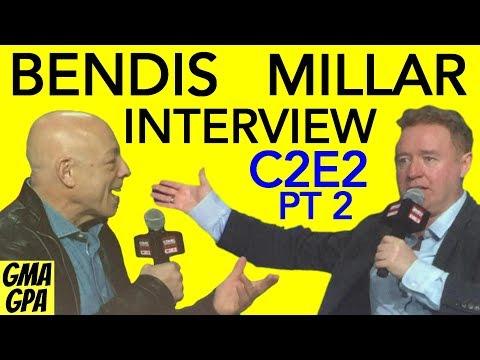 C2E2 2018 Part 2 : Interview With Brian Michael Bendis & Mark Millar On Marvel & DC Comics Superman