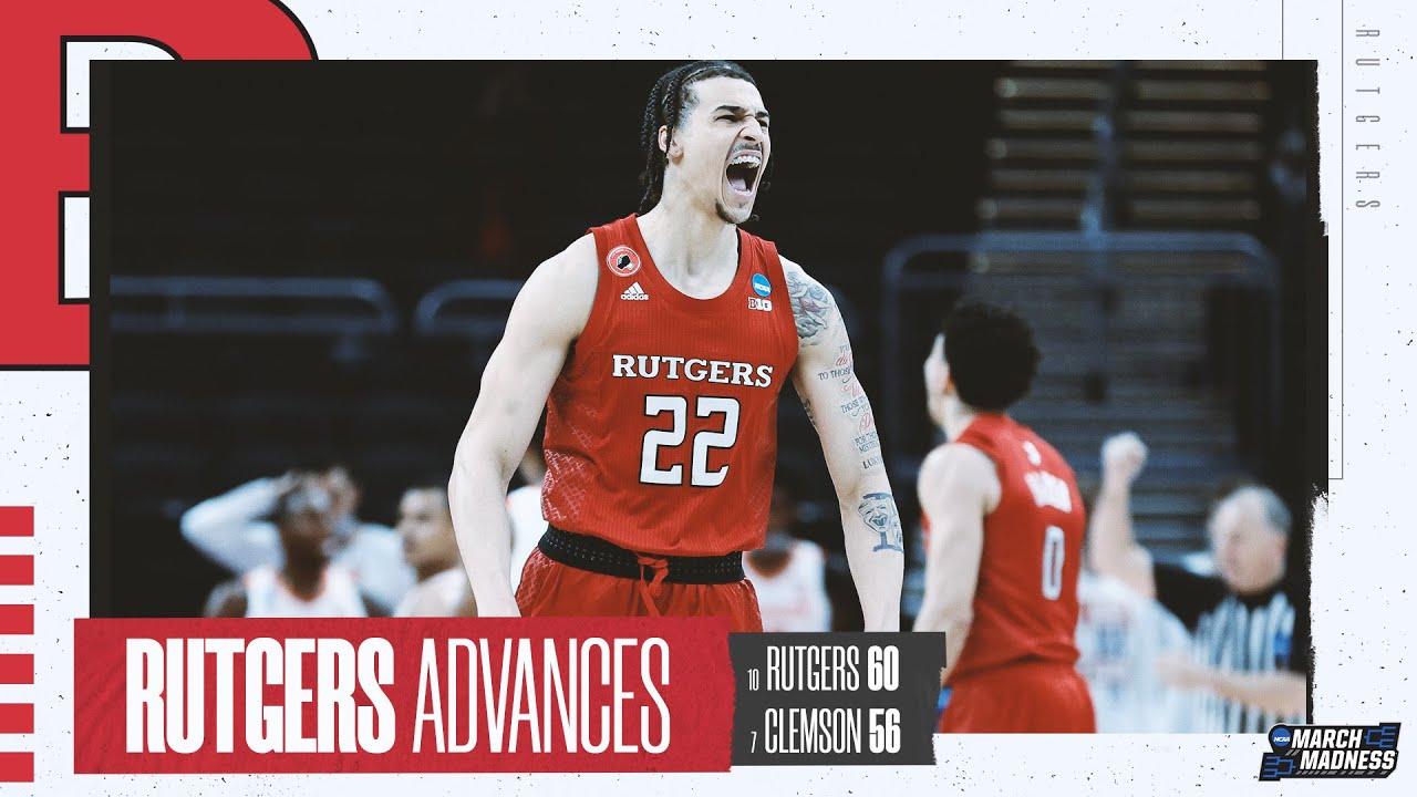 Clemson vs. Rutgers - First Round NCAA tournament extended highlights