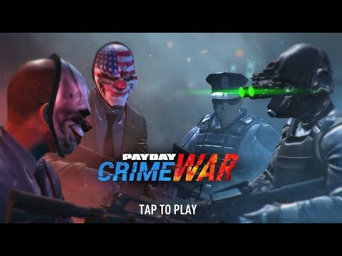 SAIU! GamePlay PAYDAY: Crime War Para Android e iOS 2017