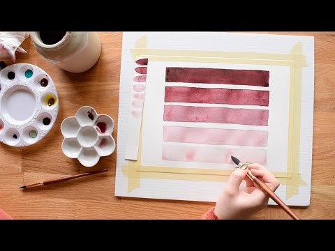 Beginner Watercolor Exercises~ Part 1- Transparency
