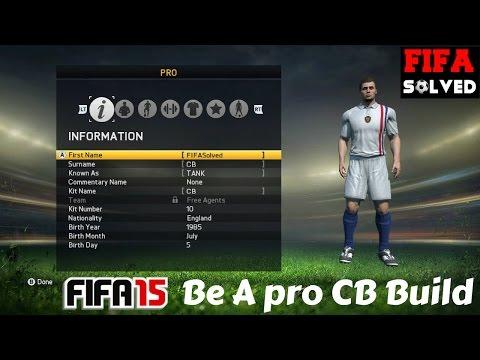 FIFA 15 Pro Clubs   Best CB Build Tutorial