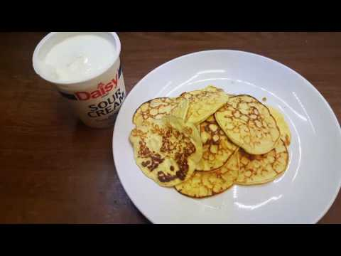 Awesome Cream Cheese Keto Pancakes. No Flour. Easiest Ketogenic Low Carb PanCakes Recipe!