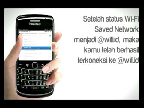 Blackberry with WIFI id(HD)