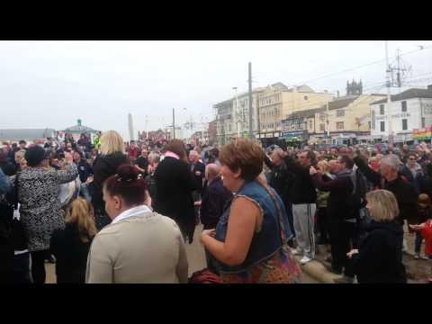 First Northern Soul Flashmob 2014 - Blackpool