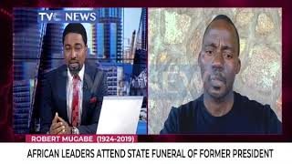 Zenzele Ndebele speaks on state funeral for Mugabe