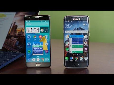 OnePlus 3T vs Samsung Galaxy S7 edge: Flagship killer vs Flagship