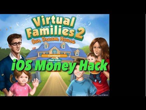 iOS Money hack for Virtual Families 2 Dream House | iOS money cheat | Jailbreak Required