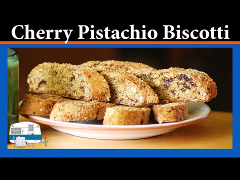How to Make Cherry Pistachio Biscotti
