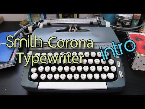 Smith-Corona Super Sterling  | My Vintage Typewriter! | Creation in Between